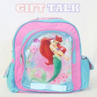 Disney Princesses Ariel School Backpack 10 Small School Bag w/Yellow