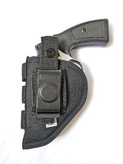 Nylon Belt Gun Holster 2 Revolvers, Taurus CIA 85 405 451 605, S&W 36