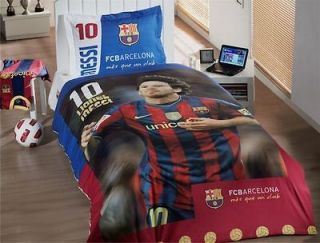 MESSI   Barcelona Football Team Single Duvet Cover With Messi