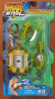 max steel  attack gear mosc new time left $