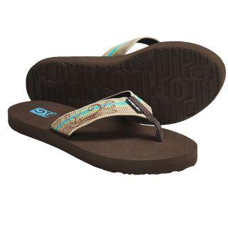 b426f2cc4fbd ... Teva Mush II Thong Sandals Flip Flops Tattoo Natural Women NWT Size 7   NEW ...