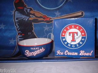 texas rangers 2012 texas rangers ice cream bowl sga on