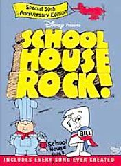 Schoolhouse Rock The Ultimate Collectors Edition DVD, 2002, 2 Disc