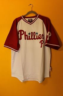 New Stitches MLB Philadelphia Phillies jersey shirt mens XXL $55
