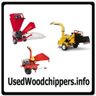 Used Woodchippers.i​nfo ONLINE WEB DOMAIN FOR SALE/WOOD CHIPPERS