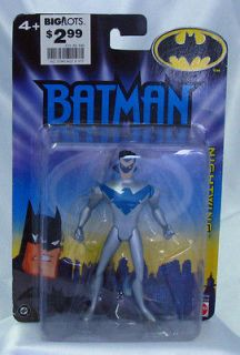 batman animated series nightwing silver costume s6