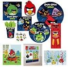Angry Birds Custom Birthday Invitations Set 10 w Envelopes 5x7