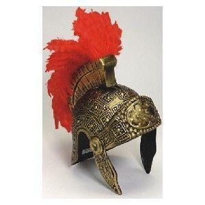 roman warrior fighting soldier costume helmet feather