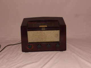 vintage 1940s rca victor radio model 8r74 nice condition time
