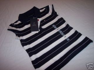 nwt girl s tommy hilfiger blue polo shirt 6 x 6x
