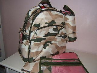 loaded pink camo diaper cake baby shower centerpiece girl camouflage. Black Bedroom Furniture Sets. Home Design Ideas
