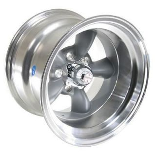 American Racing Torq Thrust D Gray Wheel 15x10 5x4.75 BC