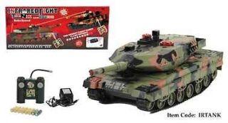 RC Remote Control Infra Red Laser Battle Tank Set 2 Tanks NEW