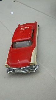 1956 AMT FORD FAIRLANE 2 DOOR HARD TOP 8 PROMO CAR w FRICTION DRIVE
