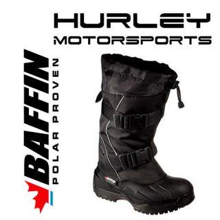 BAFFIN IMPACT Mens Snowmobile Boot  Black  Size 9, 10, 11, 12, 13