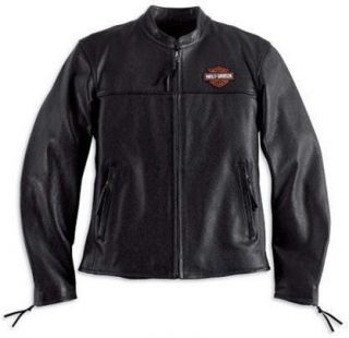 mens harley davidson leather jacket in Mens Clothing