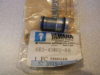 YAMAHA OUTBOARD POWER TILT TRIM $39.99 VALVE SUB ASSY 6E5 43802 00