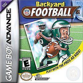 Backyard Football Nintendo Game Boy Advance, 2002