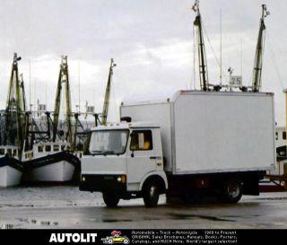 1984 iveco fiat z range diesel truck factory photo time