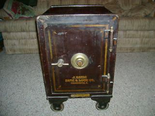 Baum Safe & Lock co. Cincinnati O. A ? Anderson&co Los Angeles cal