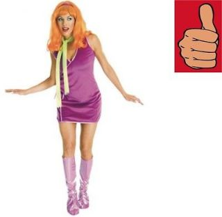 Scooby Doo   Daphne Costume   Adult   Standard Size   Up To Ladies