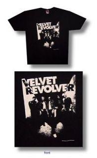 new authentic velvet revolver band mens tee shirt in black