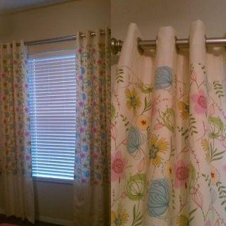 Custom Window Treatments / Draperies / Curtains   102 Long