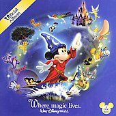 Walt Disney World Official Album Where Magic Lives CD, Oct 2006, Walt