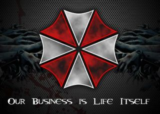 Umbrella Corporation Resident Evil Game Car Bumper Window Sticker