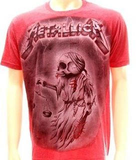 Metallica Biker Hard Rock Music Rider T shirt L Heavy Metal Concert