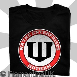 9144 WAYNE ENTERPRISES #2 T SHIRT inspired by BATMAN nightwing ARKHAM