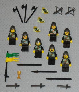 Lot 7 Dragon Castle Knights Weapons Swords Lego Minifig People