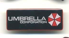 Resident Evil Umbrella Corp Logo Enamel/Metal Pin