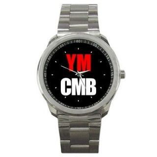 lil wayne wiz khalifa RAP HIP HOP YMCMB Sport Metal Watches New