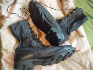 GENUINE ISSUE WELLCO US MK1 1990 JUNGLE BOOTS UK 12 US 13 W AIRBORNE
