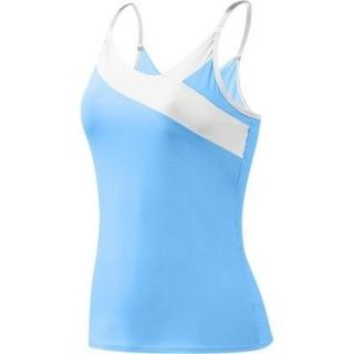 GoLite Cottonwood Spaghetti Strap Tank Top   Womens Sky Blue/White