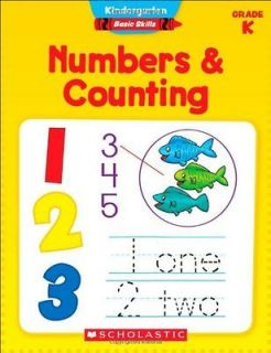 & Counting, Grade K Book  Aaron Levy Kelley Wingate Levy NEW PB BNT