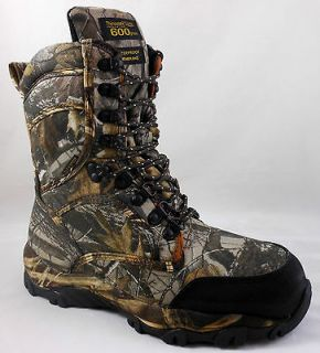 NEW MENS HI AD TEC BOOTS   11.5 REALTREE HARDWOODS CAMO HUNTING SHOES