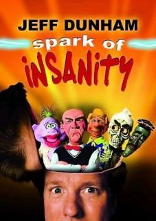 jeff dunham spark of insanity dvd 2007 brand new time