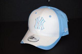 NEW ERA WOMENS ADJUSTABLE MLB BASEBALL CAP   NEW YORK YANKEES   LT