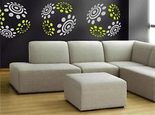 circles rings kid s wall sticker vinyl decal art phrase