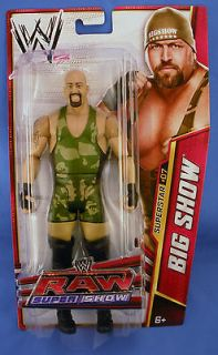 WWE Series 25 Superstar #07 The Big Show Basic Action Figure In Hand
