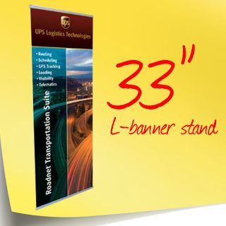 33 l banner stand  39 99  retractable pop up pull