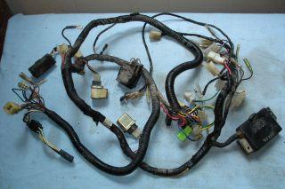 yamaha xj 650 seca 82 main wiring harness from canada
