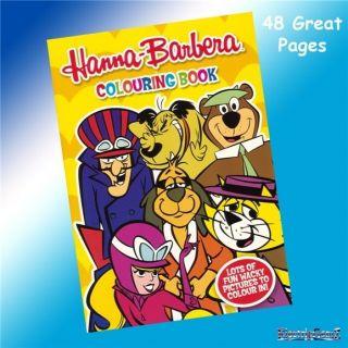 hanna barbera top cat yogi bear etc colouring book  2 74