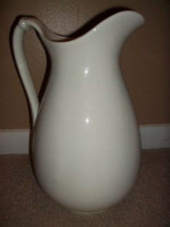 Antique K T & K Knowles Taylor and Knowles Semi vitreous china Pitcher