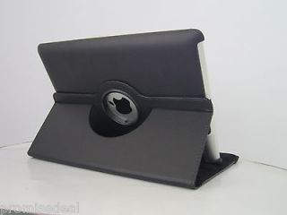 360 Degree Rotating Leather Smart Cover Case Stand For iPad 2/3/4 new