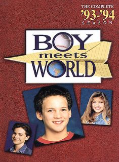 Boy Meets World   The Complete First Season DVD, 2004, 3 Disc Set