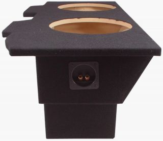 PONTIAC FIREBIRD 93 02 CAR DUAL 10 SUBWOOFER SPEAKER SUB BOX ENCLOSURE