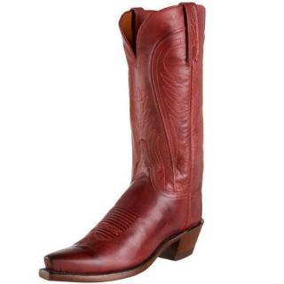 Womens 1883 by Lucchese Western Boots N8470 5 4 Red Burnished Ranch